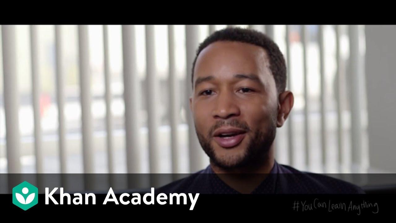 John Legend: Success through effort