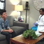 Ellen's in Bruno Mars' Ear