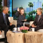 Macey Meets President Obama