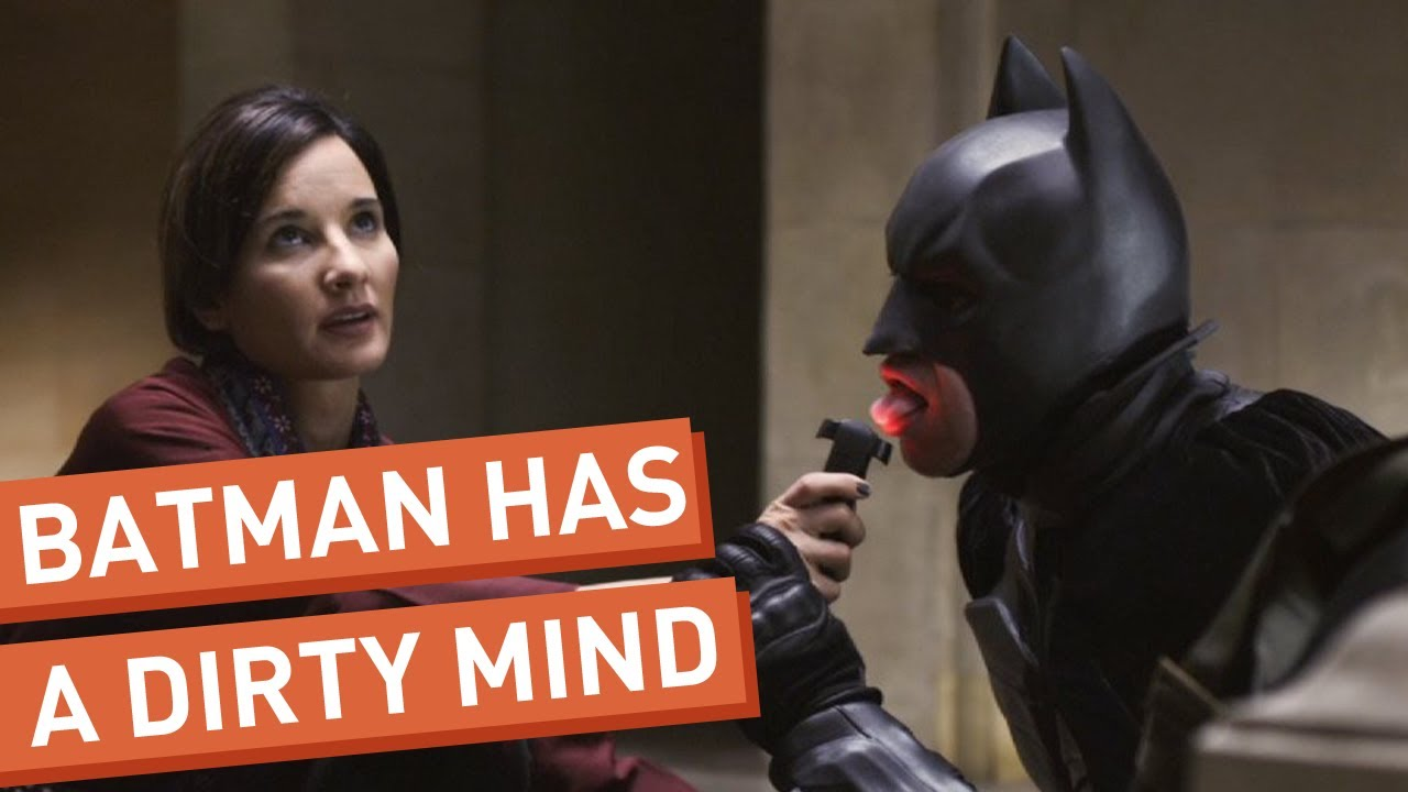 Batman Can't Stop Thinking About Sex