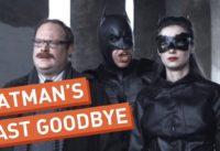 Batman Says His Goodbyes