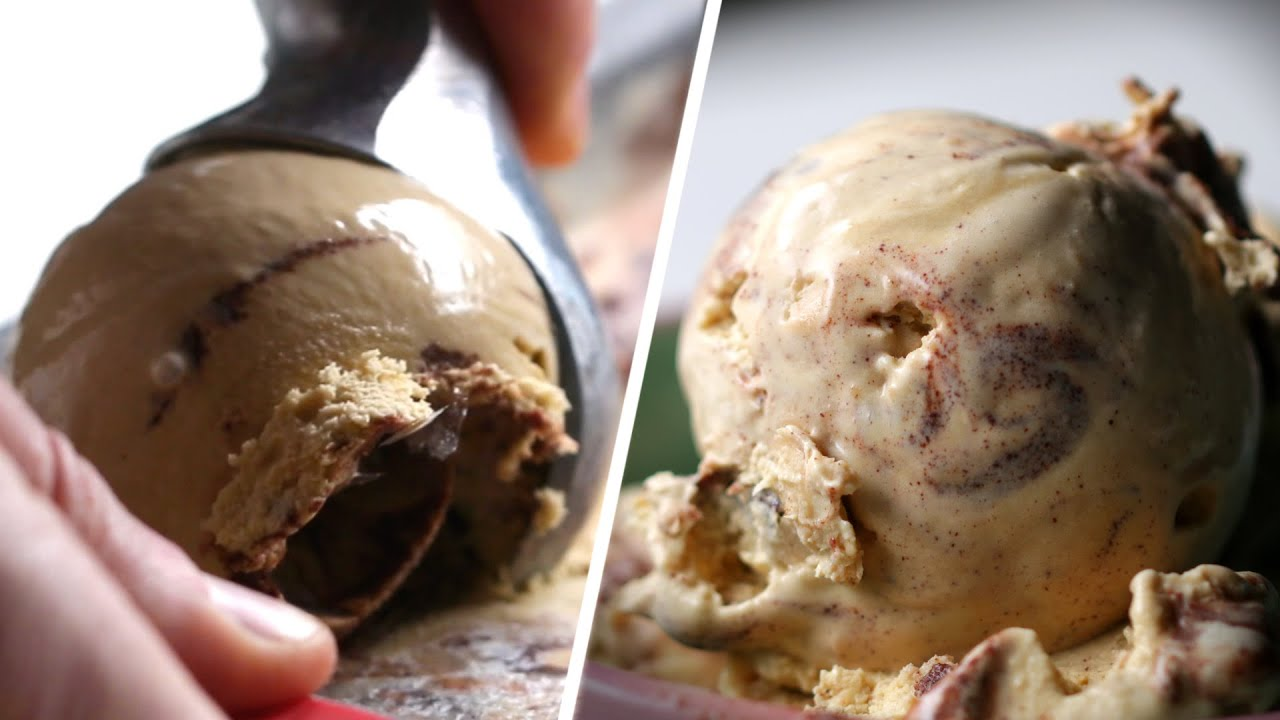 Salted Malted Cookie Dough Ice Cream As Made By Tyler Malek