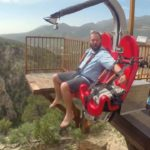 Take a Ride on the Terror Dactyl Canyon Swing! - Travel Channel