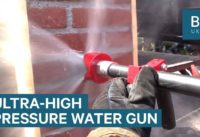 Firefighter Hose Can Cut Through Brick And Metal