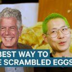 Anthony Bourdain's Secret To Scrambled Eggs