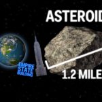 How big an asteroid would need to be to wipe out New York City