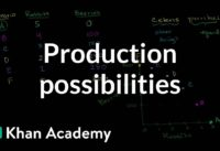 Production possibilities frontier   Microeconomics   Khan Academy