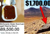 Top 10 Freebies That People Sold For A FORTUNE