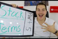 Stock Market Terminology every Investor MUST KNOW! - Part 5