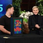 Rubik's Cube Magician Paul Vu Makes Ellen a Work of Art