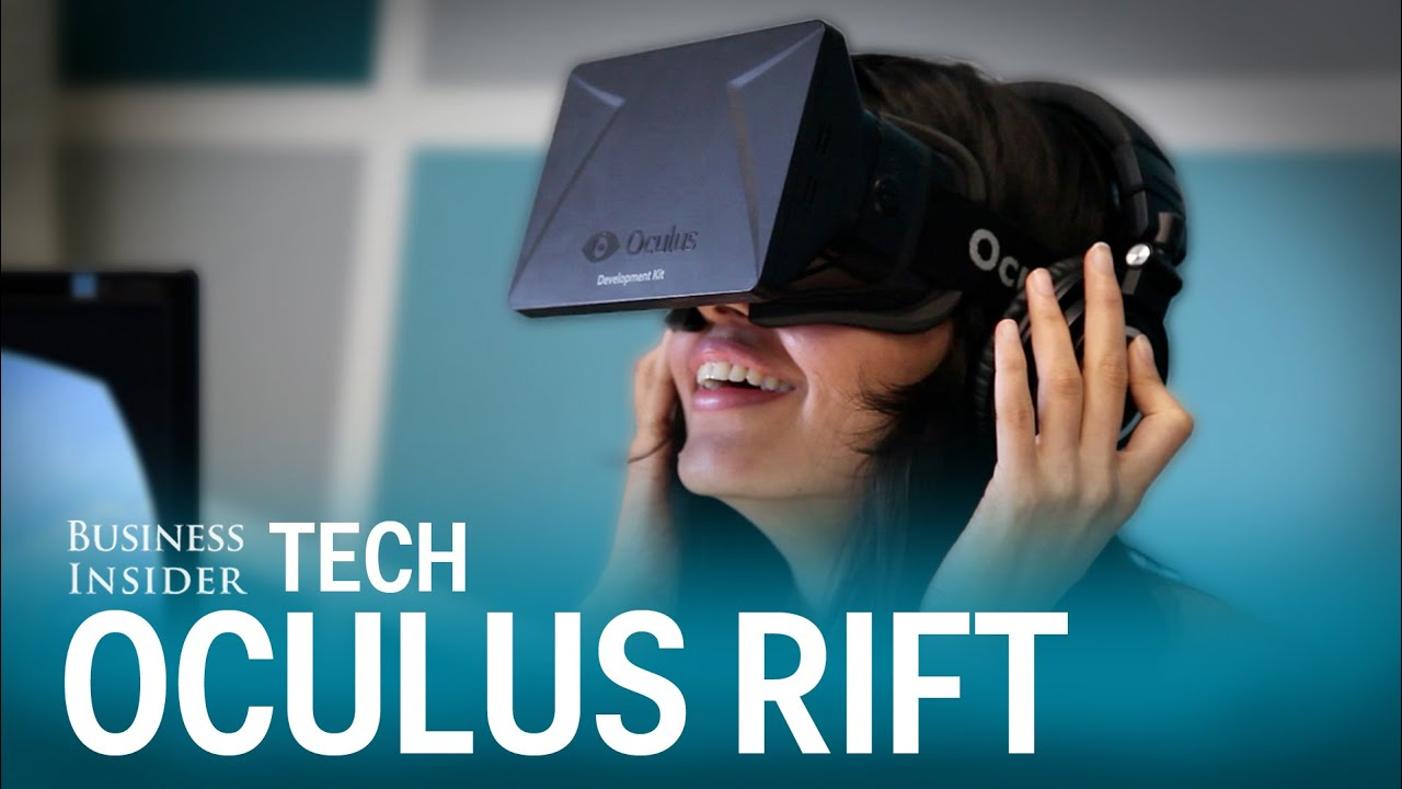 Priceless Reactions To The Oculus Rift Virtual Reality Headset