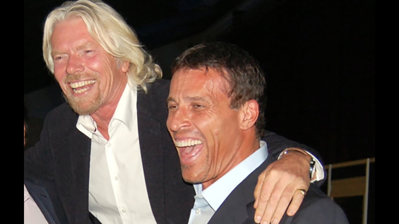 What Sir Richard Branson Taught Tony Robbins About Risk