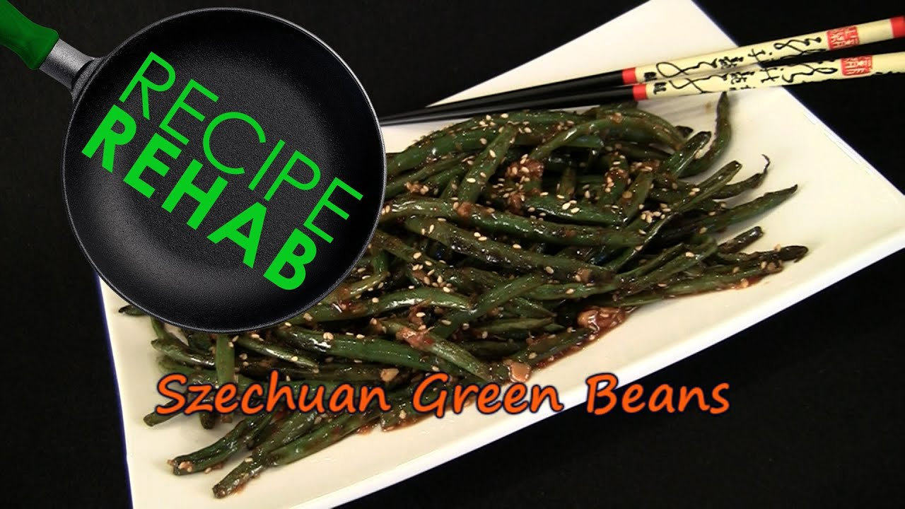 Show Me the Curry - Szechuan Green Beans   Recipe Rehab Talent Search