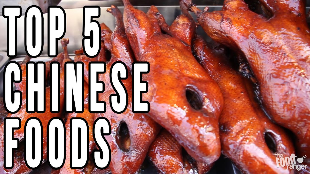 Top 5 Chinese Foods You MUST Try | Best Food Of The Year!
