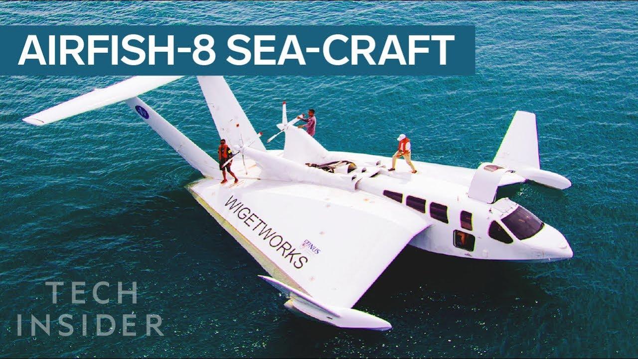 This Sea-Craft Looks Like A Plane, Has A Car's Engine, And Docks Like A Boat