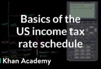 Basics of US income tax rate schedule   Taxes   Finance & Capital Markets   Khan Academy