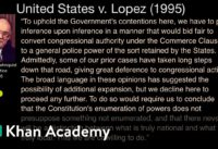 United States v.  Lopez | US government and civics | Khan Academy