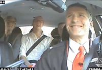Norway's Prime Minister Turns Taxi Driver   Jens Stoltenberg Drives A Cab