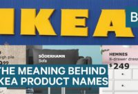 The meaning behind IKEA product names