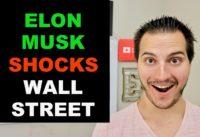 TESLA & ELON MUSK SHOCK WALL STREET WITH Q3 EARNINGS
