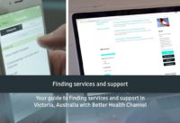 Finding services and support with Better Health Channel