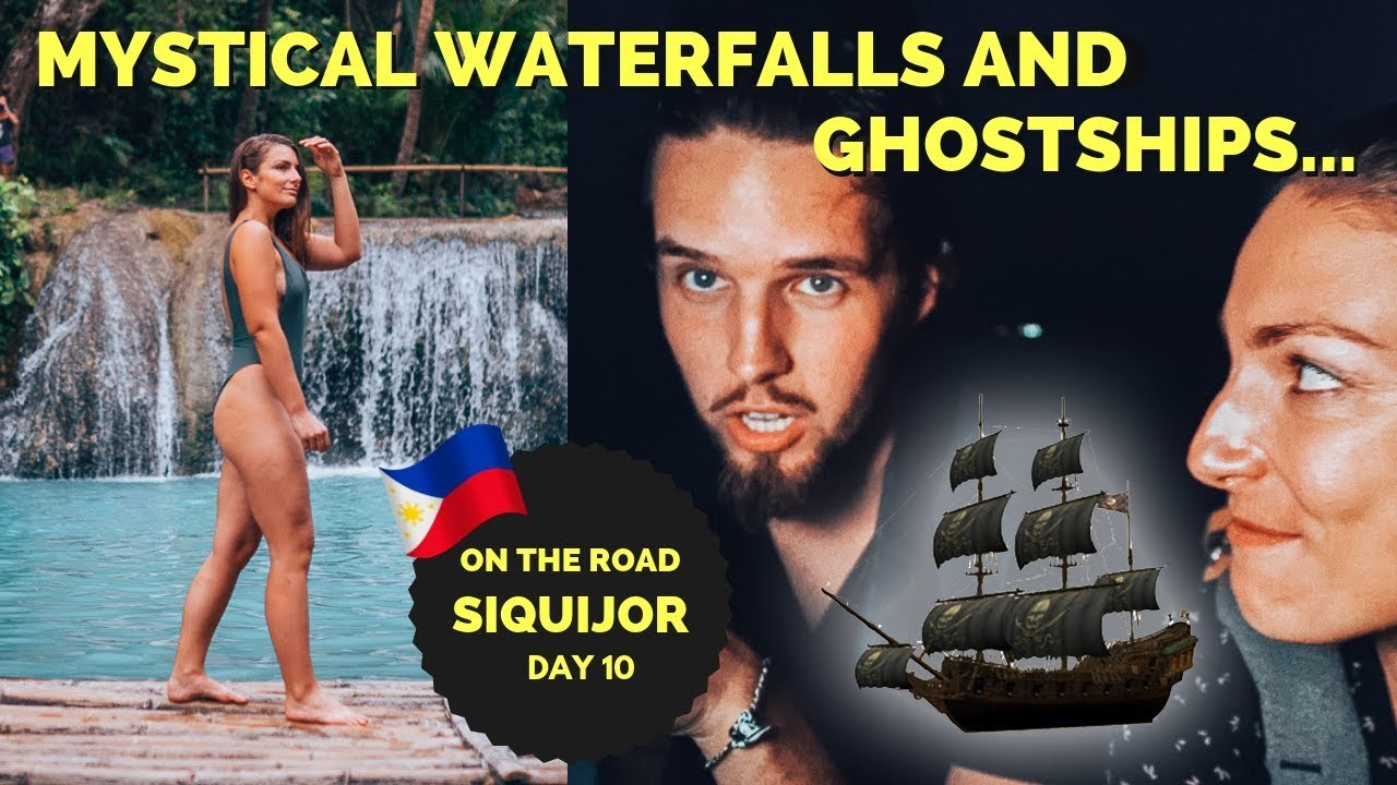 GHOST SHIP and the MYSTICAL WATERFALL in Siquijor