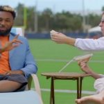 Cooper Manning messes with Jarvis Landry in Miami   FOX NFL KICKOFF #MANNING HOUR
