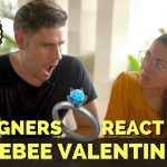 Foreigners react to JOLLIBEE VALENTINES AD - Anniversary & Proposal 2019