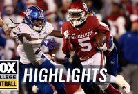 Kansas vs. Oklahoma | FOX COLLEGE FOOTBALL HIGHLIGHTS