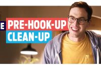 The Pre-Hook-up Clean-up