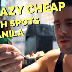 3 AWESOME FILIPINO FOOD spots in MANILA on a budget - Sisig, Bicol Express and Filipino Street Food