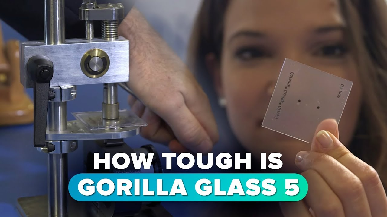 How tough is the new Gorilla Glass 5?
