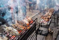 INSANE GRILLED FILIPINO STREET  FOOD IN SIARGAO   MAMA's GRILL FILIPINO FOOD