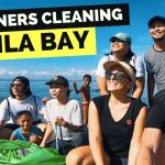 MANILA BAY - FOREIGNERS joining the BEACH CLEAN UP