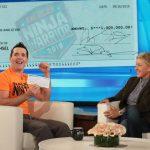 Ellen Surprises 'American Ninja Warrior' Winner with $1 Million Prize