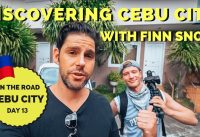 """Discovering CEBU CITY - Philippines with FINN SNOW """"PIN PIN"""""""