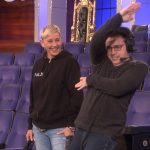 Behind the Scenes: Andy Shows Ellen His Dance Moves