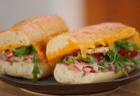 Ham, Cheddar, and Apple Slaw Sandwich   Everyday Health