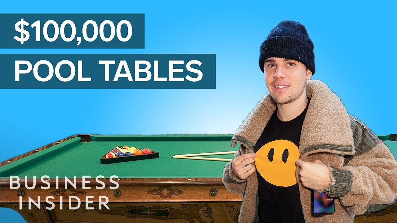 How Celebrity-Favorite Pool Tables Are Made, Starting At $20,000   The Making Of