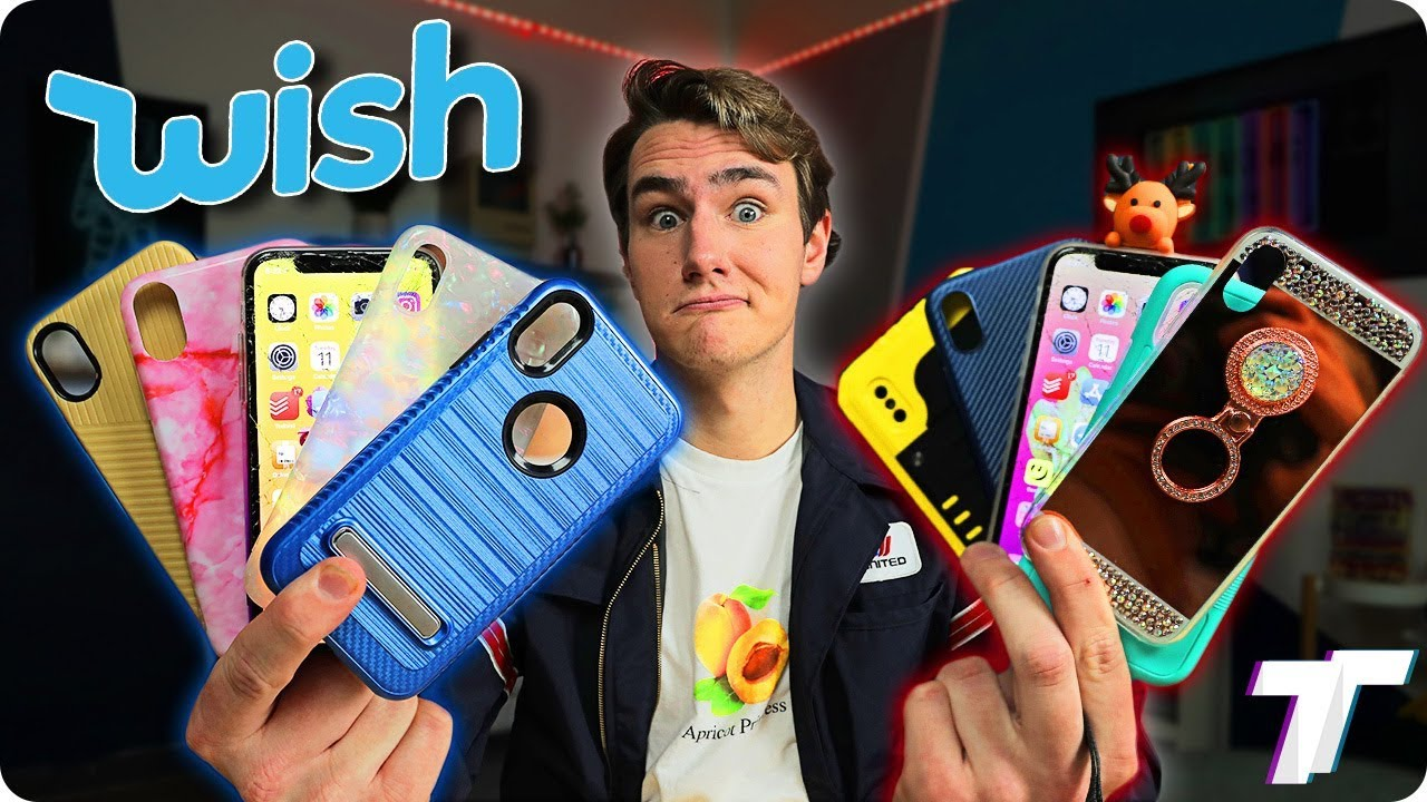 I Bought All The iPhone Cases on Wish...