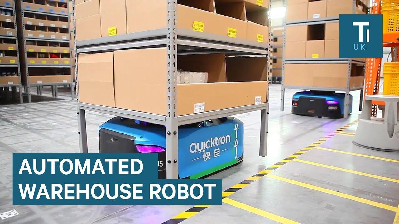 Inside Alibaba's smart warehouse staffed by robots