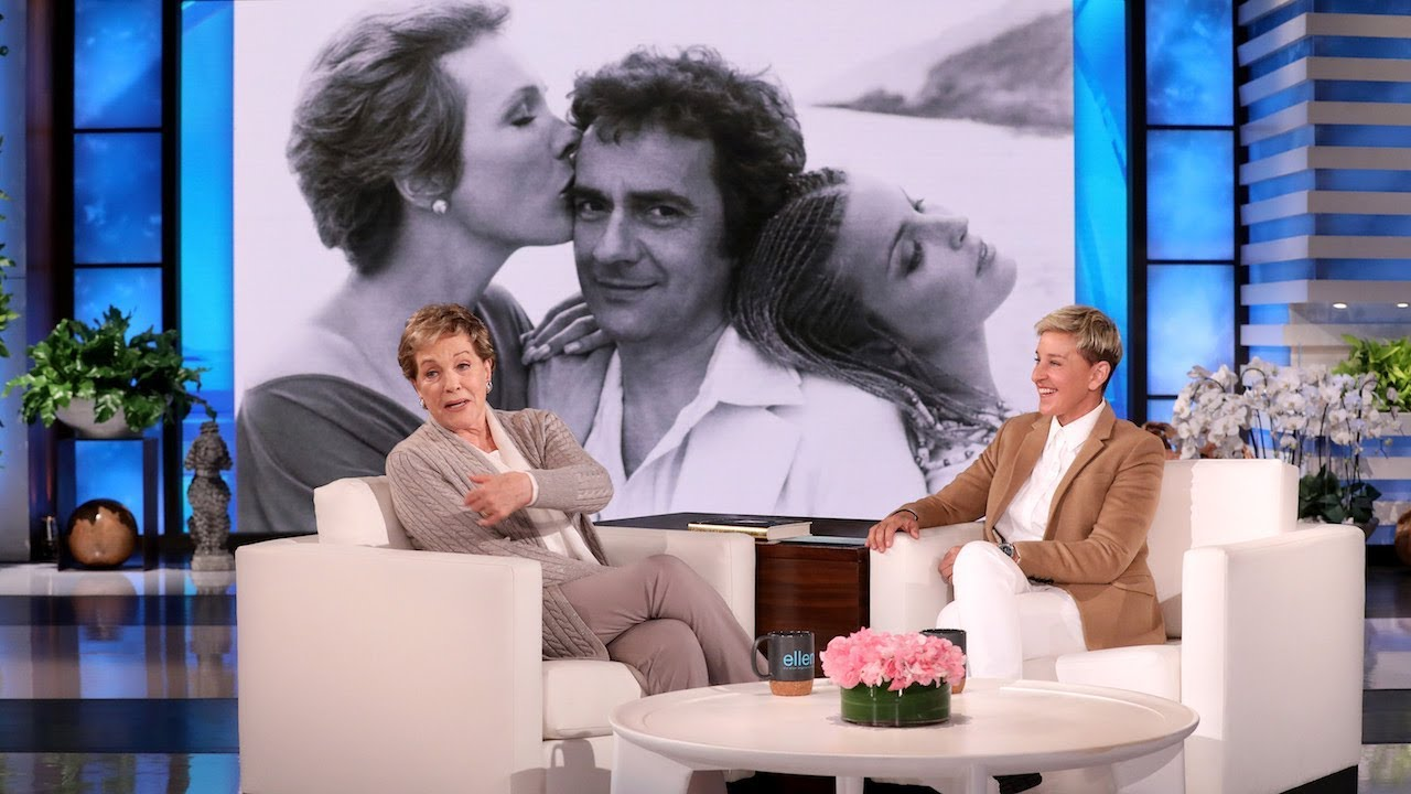 Julie Andrews Opens Up About Watching a Fake Orgy