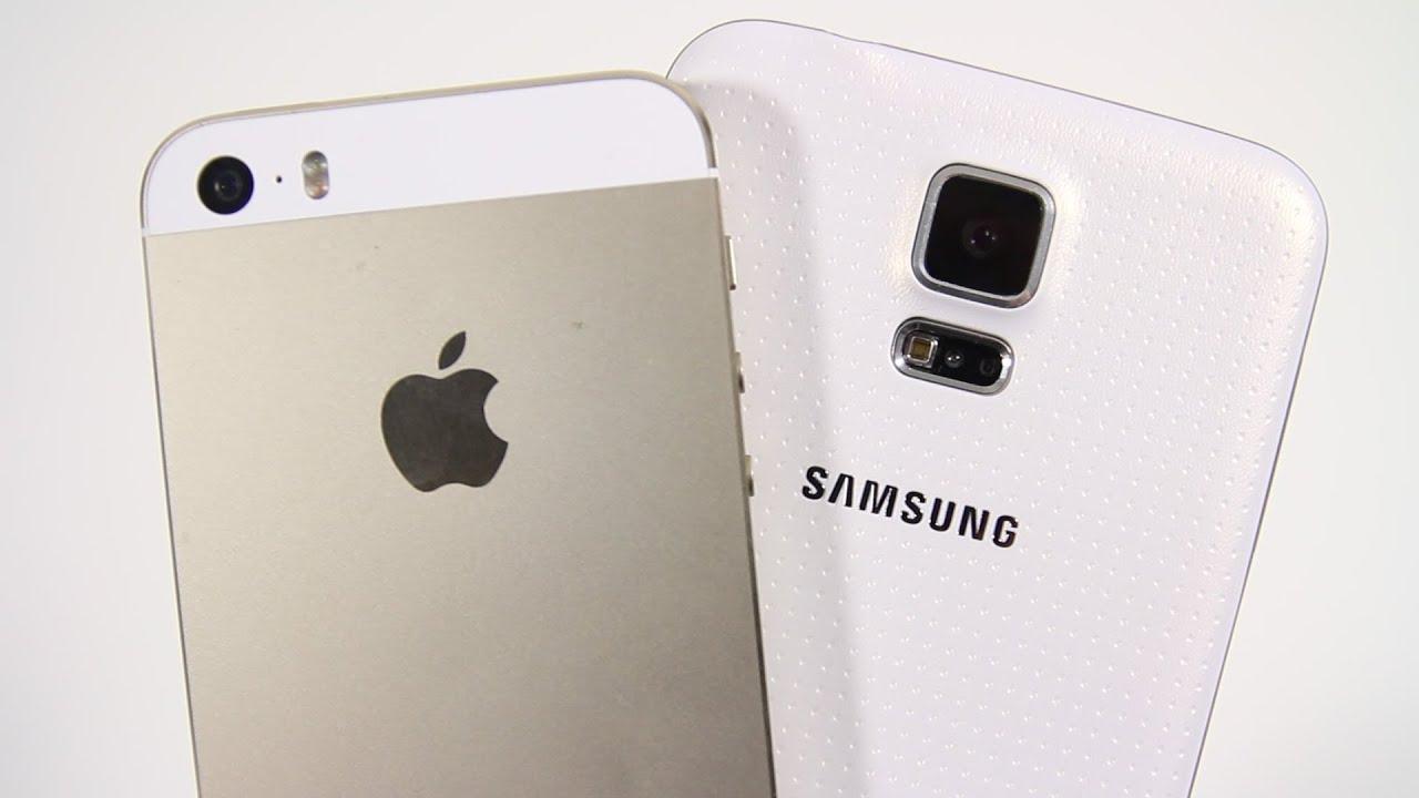 Samsung Galaxy S5 vs Apple iPhone 5s - Full Comparison