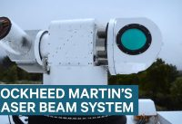 Watch Lockheed Martin's laser beam system burn drones out of the sky