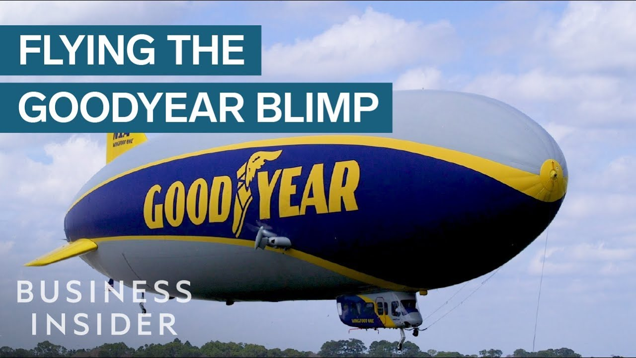What It Takes To Fly The $21 Million Goodyear Blimp