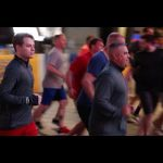 Working out before dawn with former SEALs Jocko Willink and Leif Babin