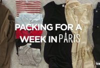How to Pack for a Week in Paris - Travel Channel