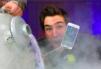 LIQUID NITROGREN vs iPhone 7...Bad Idea?