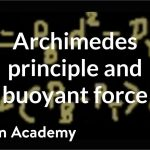 Archimedes principle and buoyant force | Fluids | Physics | Khan Academy