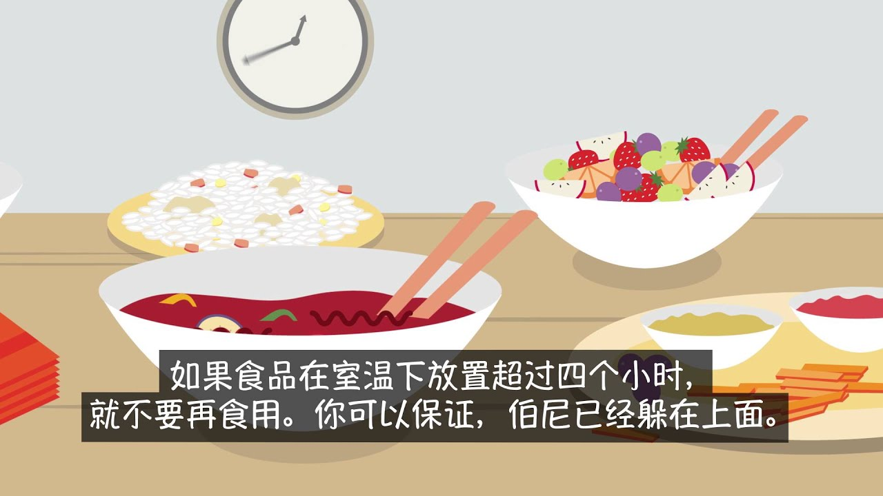 Eat Food Safe - Chinese